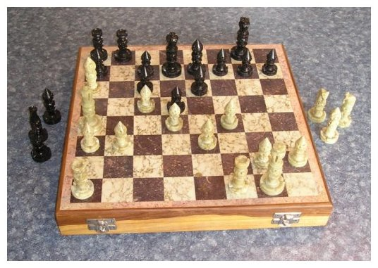 Eldrbarry 39 s collecting chess sets - Chess board display case ...
