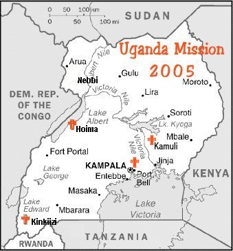 maps of uganda. Links on Uganda